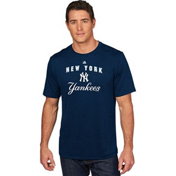 Men's Majestic New York Yankees Scoreboard Tee