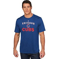 Men's Majestic Chicago Cubs Scoreboard Tee