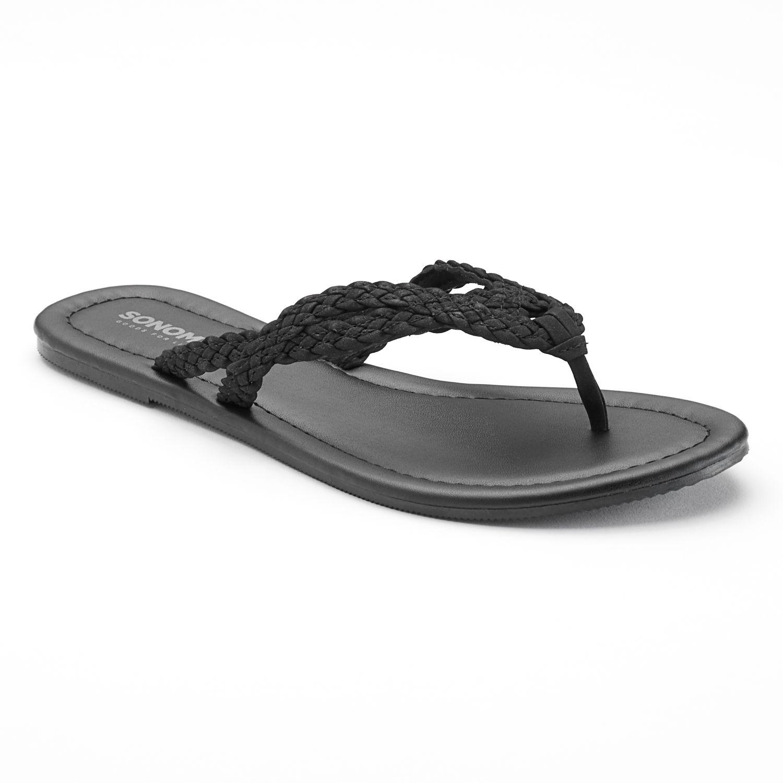 Sonoma Goods For Life® Braided Flip-Flops