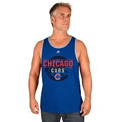 Men's Majestic Chicago Cubs Home Turf Advantage Tank Top