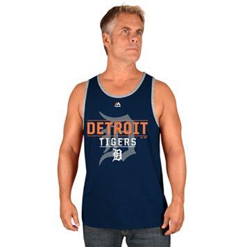 Men's Majestic Detroit Tigers Home Turf Advantage Tank Top