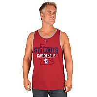 Men's Majestic St. Louis Cardinals Home Turf Advantage Tank Top