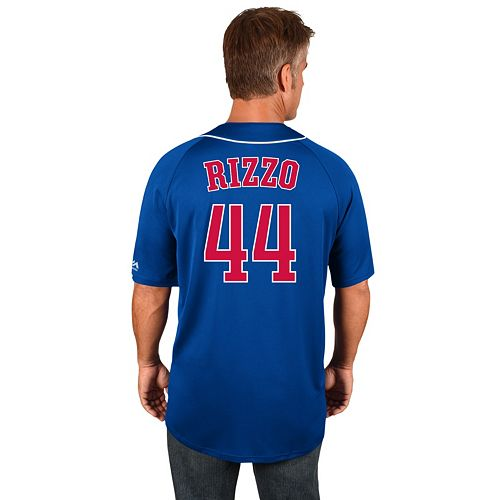 new arrival fb9d6 3a3cd Men's Majestic Chicago Cubs Anthony Rizzo Jersey