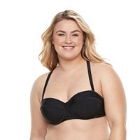 Plus Size Paramour Underwire Bralette Swim Top