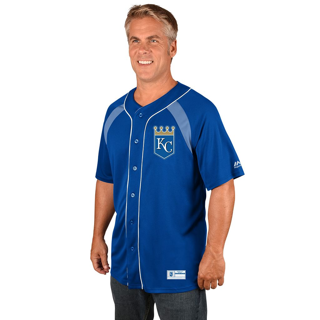 Men's Majestic Kansas City Royals Eric Hosmer Jersey