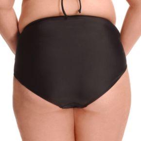 Plus Size Paramour High-Waisted Bikini Bottoms