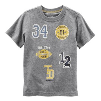 Boys 4-8 Carter's Athletic Applique Patch Tee