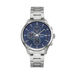 Seiko Men's Stainless Steel Chronograph Watch