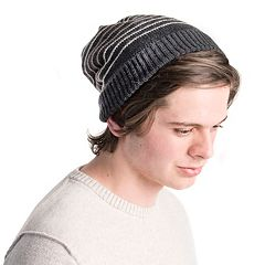 Men's MUK LUKS Striped Beanie