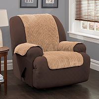 Innovative Textile Solutions Plush Stripe Chair Slipcover