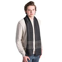 Men's MUK LUKS Striped Scarf