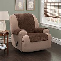 Innovative Textile Solutions Plush Stripe Recliner Slipcover