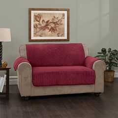 Innovative Textile Solutions Plush Stripe Sofa Slipcover