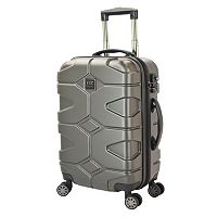 Travelers Club Axel 20-Inch Hardside Dual Spinner Carry-On Luggage