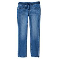 Girls 4-6x Squeeze Ribbed Waistband Skinny Jeans