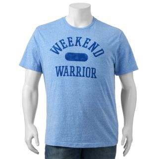 "Big & Tall SONOMA Goods for Life™ ""Weekend Warrior"" Tee"