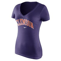 Women's Nike Clemson Tigers Wordmark Tee