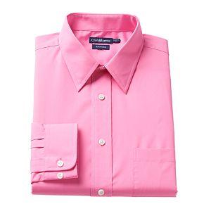 Men's Croft & Barrow® Regular-Fit Easy-Care Point-Collar Dress Shirt