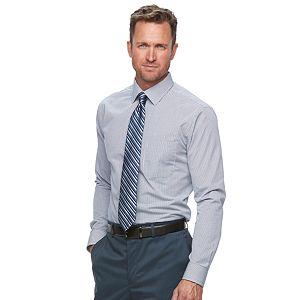 Men's Croft & Barrow Classic-Fit Easy Care Spread Collar Dress Shirt