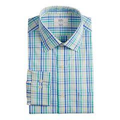 Men's Croft & Barrow® Classic-Fit Easy-Care Spread-Collar Dress Shirt