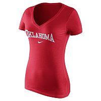 Women's Nike Oklahoma Sooners Wordmark Tee