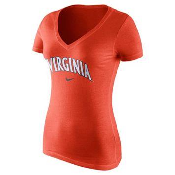 Women's Nike Virginia Cavaliers Wordmark Tee
