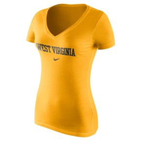 Women's Nike West Virginia Mountaineers Wordmark Tee