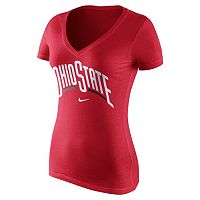 Women's Nike Ohio State Buckeyes Wordmark Tee