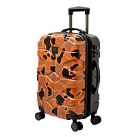 Travelers Club Wilder Camouflage 20-Inch Hardside Dual Spinner Carry-On Luggage