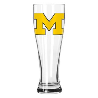 Boelter Michigan Wolverines Clear Pilsner Glass
