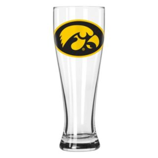 Boelter Iowa Hawkeyes Clear Pilsner Glass