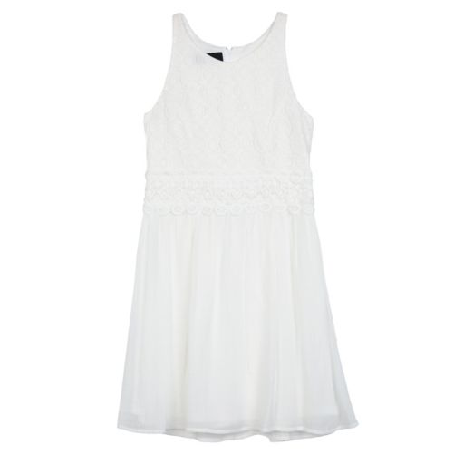 Girls 7-16 IZ Amy Byer Crochet Lace Gauze Skirt Dress