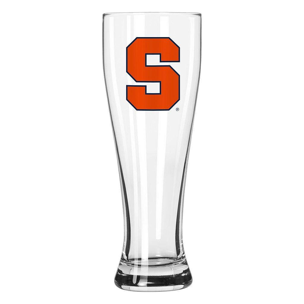 Boelter Syracuse Orange Clear Pilsner Glass