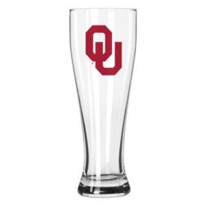 Boelter Oklahoma Sooners Clear Pilsner Glass