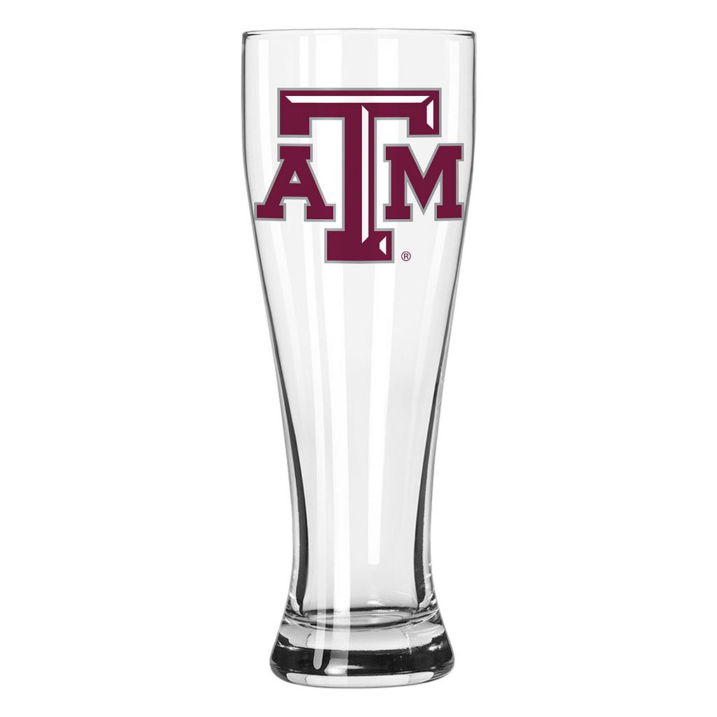 Boelter Texas A&M Aggies Clear Pilsner Glass