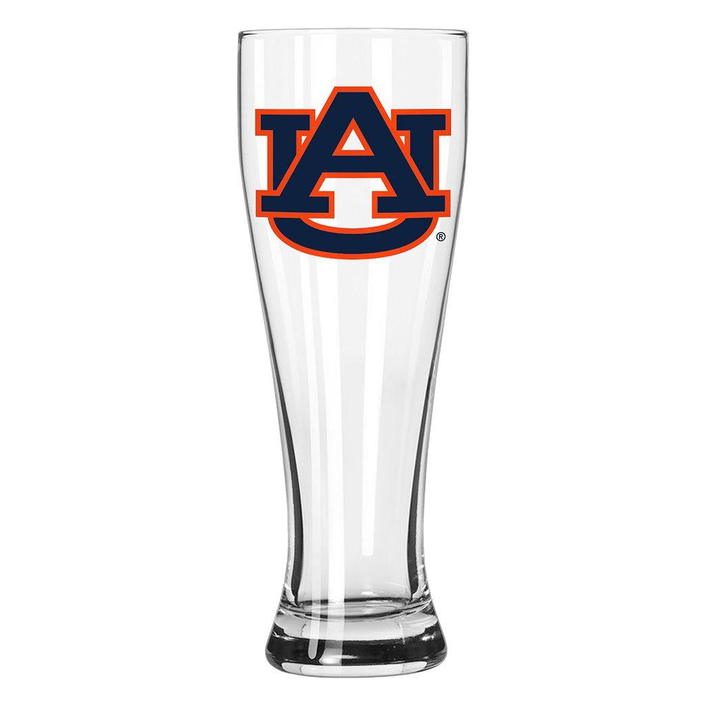 Boelter Auburn Tigers Clear Pilsner Glass