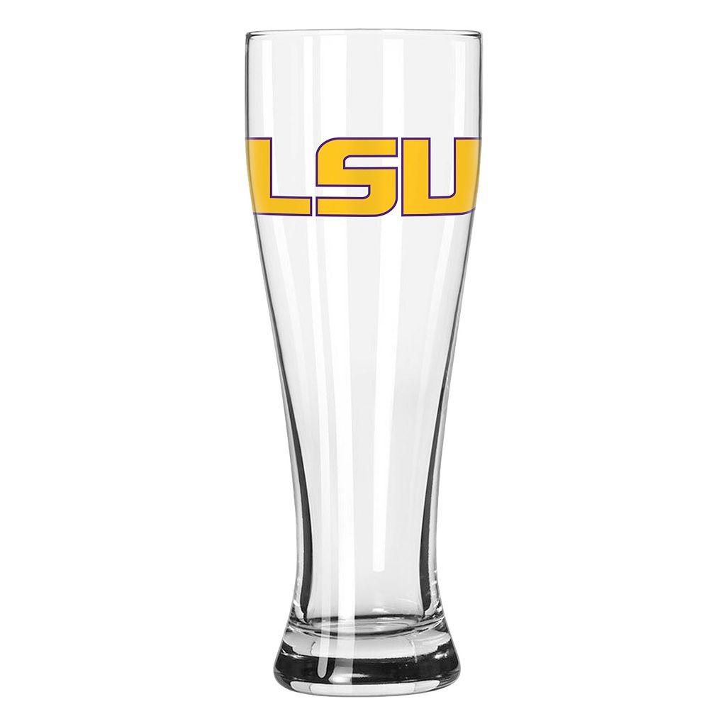 Boelter LSU Tigers Clear Pilsner Glass