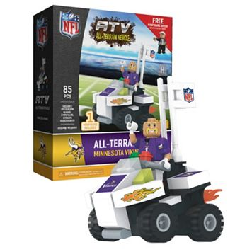OYO Sports Minnesota Vikings Buildable ATV 4-Wheeler with Mascot