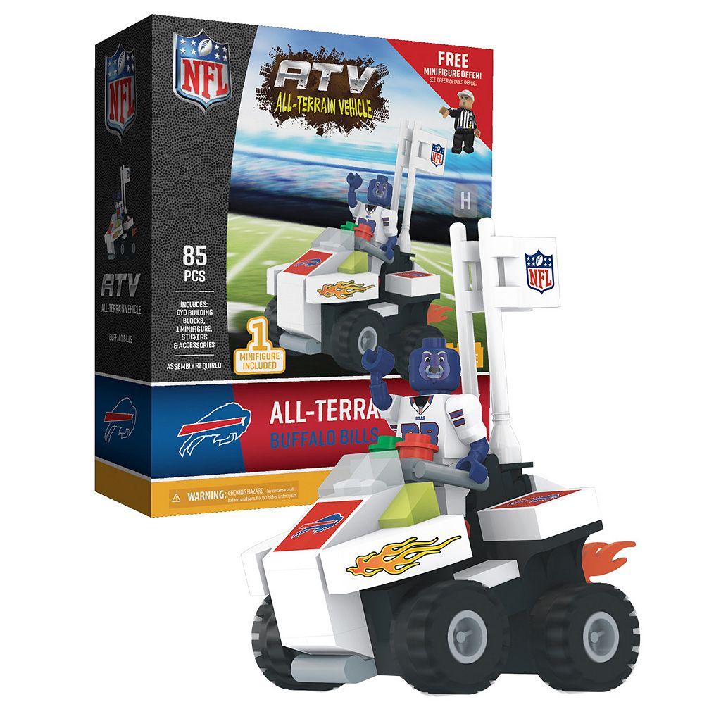 OYO Sports Buffalo Bills Buildable ATV 4-Wheeler with Mascot