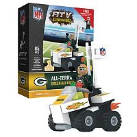 OYO Sports Green Bay Packers Buildable ATV 4-Wheeler with Super Fan