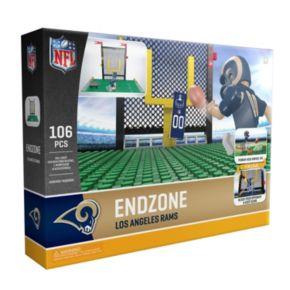 OYO Sports Los Angeles Rams 106-Piece Endzone Building Block Set
