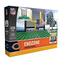 OYO Sports Chicago Bears 106 pc Endzone Building Block Set