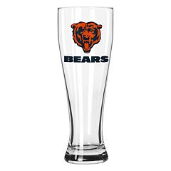 Boelter Chicago Bears Clear Pilsner Glass
