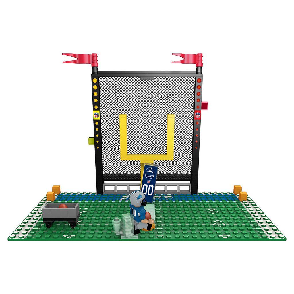 OYO Sports Detroit Lions 106-Piece Endzone Building Block Set