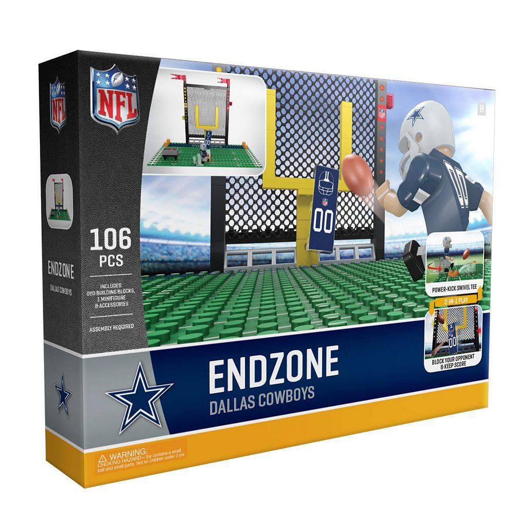 OYO Sports Dallas Cowboys 106-Piece Endzone Building Block Set