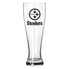 Boelter Pittsburgh Steelers Clear Pilsner Glass
