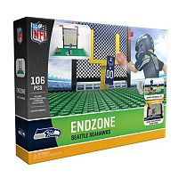OYO Sports Seattle Seahawks 106-Piece Endzone Building Block Set