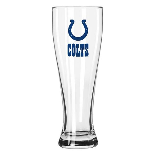 Boelter Indianapolis Colts Clear Pilsner Glass