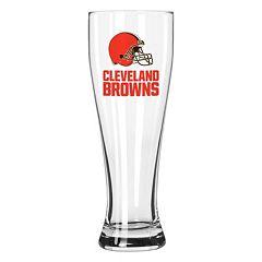 Boelter Cleveland Browns Clear Pilsner Glass