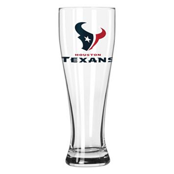Boelter Houston Texans Clear Pilsner Glass